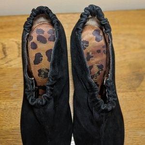 Sam Edelman Shoes - Sam Edelman Simone Black Leather Ankle Booties 9M